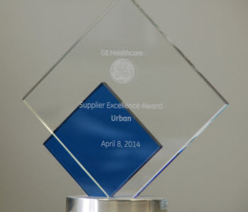 GE Healthcare Supplier Excellence Award
